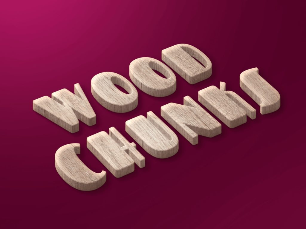 Wood Chunks Preview