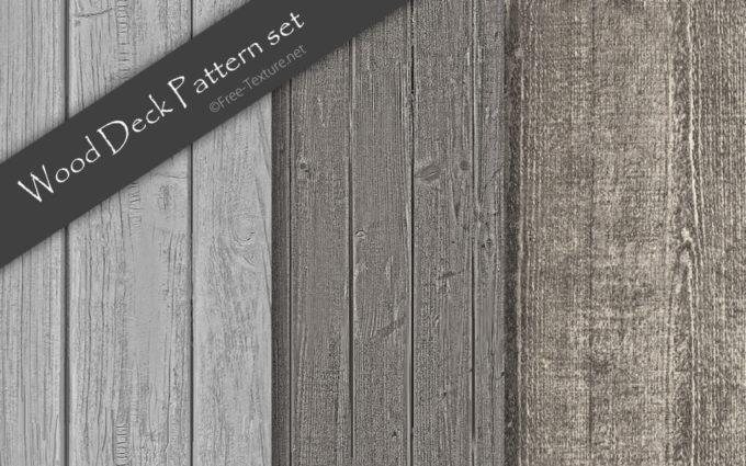 Photoshop Wood Deck Pattern set