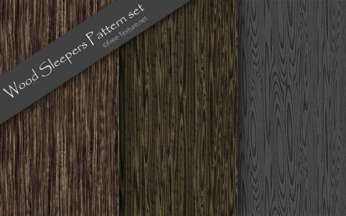 Wood Sleepers Pattern set