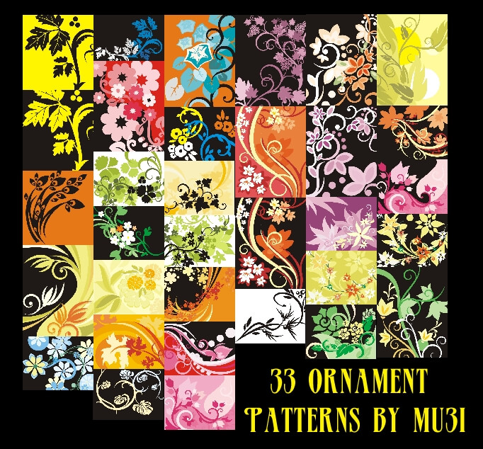 33 Ornament Patterns