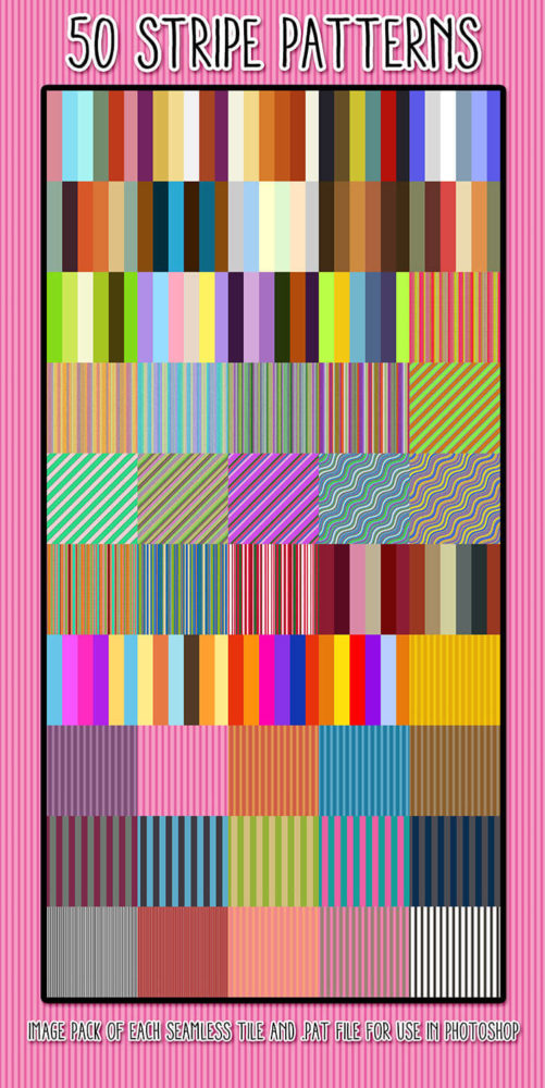 50 Stripe Patterns