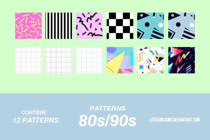 80s-90s -PATTERNS