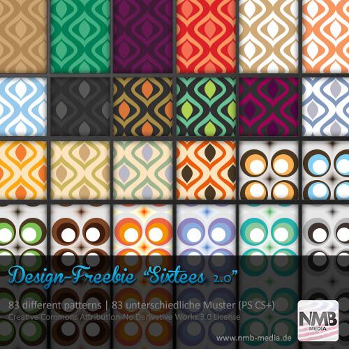 83 Pattern Styles - 1960's Wallpaper Design