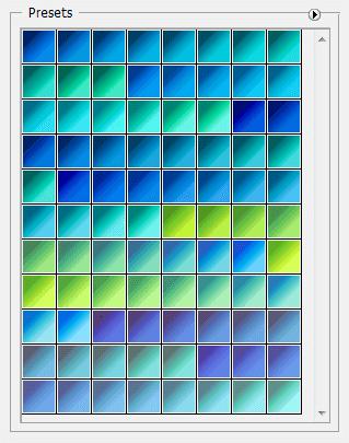 Adobe CC Photoshop Blue Gradation Free grd フォトショップ ブルー グラデーション 無料 素材 88 Gradient Varieties