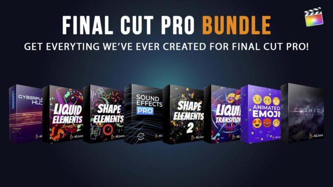 AE Juice Final Cut Pro X BUNDLE