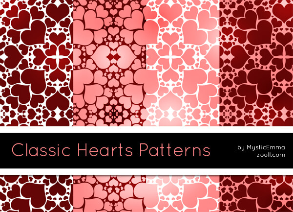 Classic Hearts Patterns