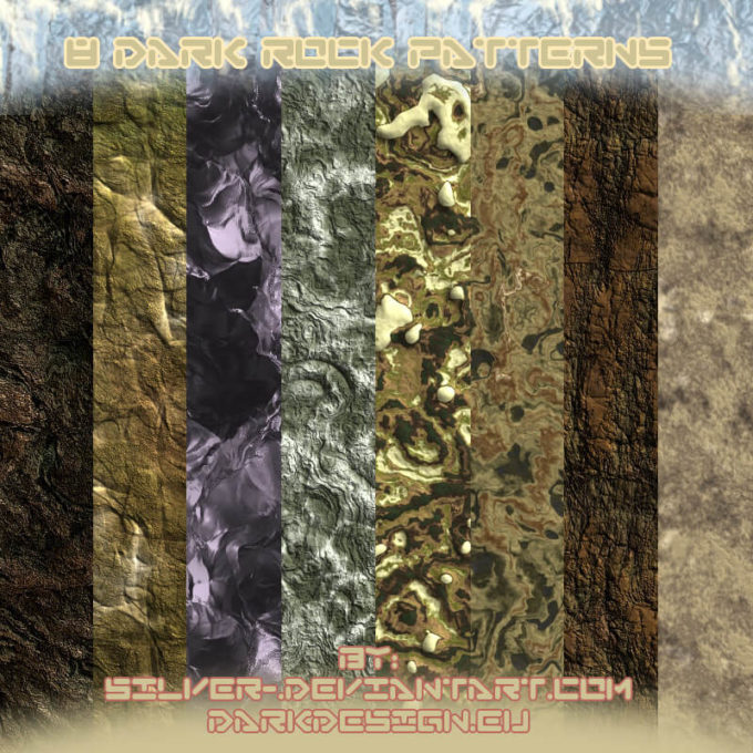 Dark Rock Patterns