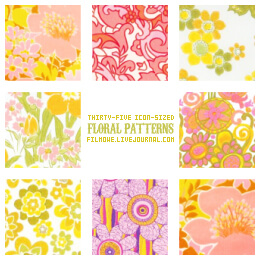 Floral patterns no. 1