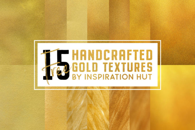 15 Free Metallic Gold Textures