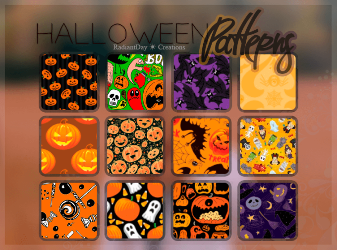 Halloween Patterns || Clari