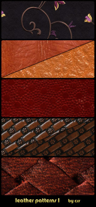 Leather Patterns 1