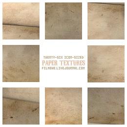 Old paper textures no. 1