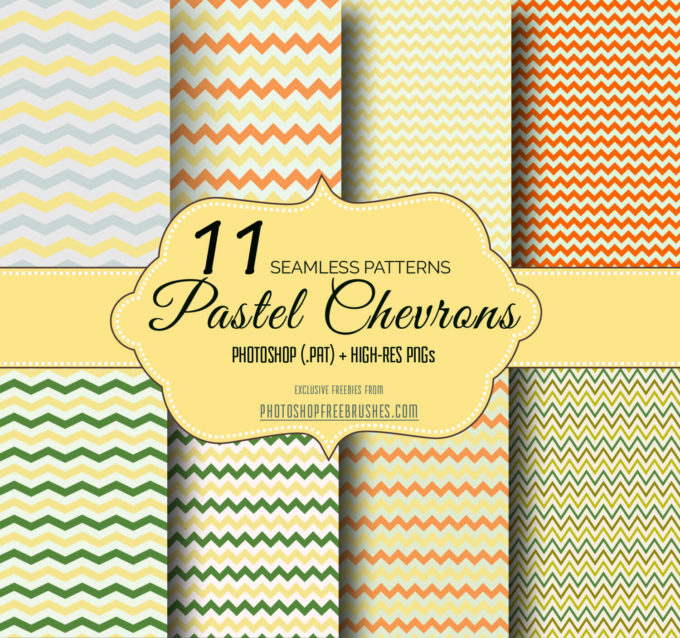 11 Free Pastel Chevron Zigzag Patterns