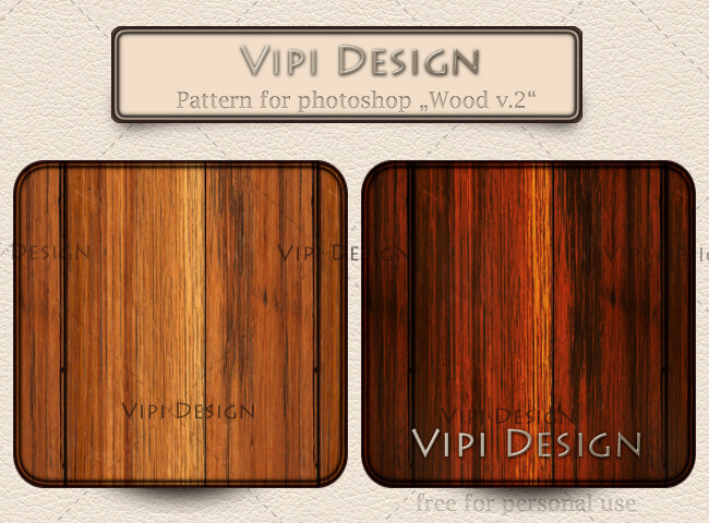 Pattern for photoshop - Wood v.2