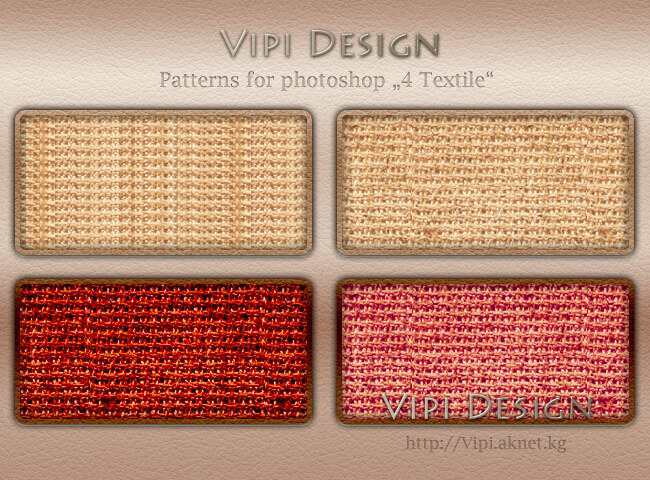 Patterns for photoshop - 4 Textile