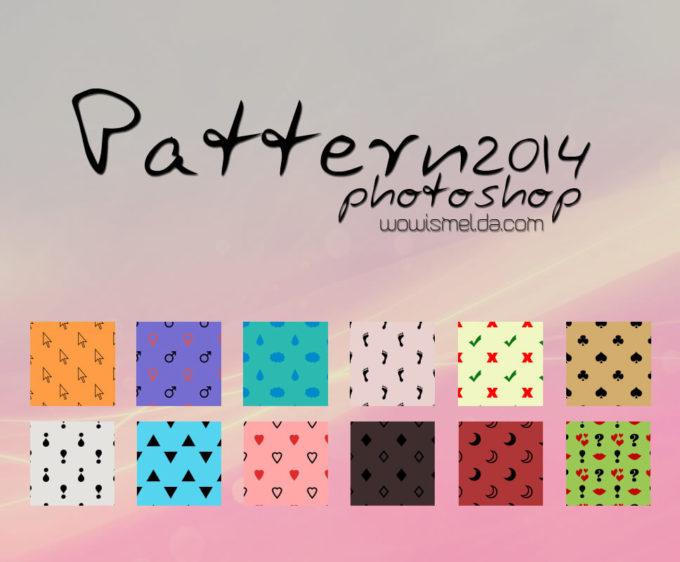 - Patterns photoshop 2014 -