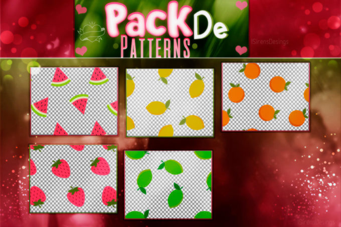 ~.Pack de Patterns #29