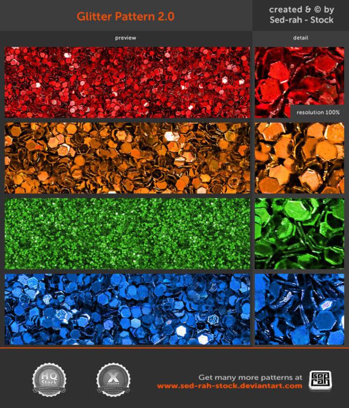 フォトショップ パターン テクスチャー Photoshop Pattern Glitter Pattern 2.0
