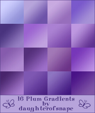 AdobeCC Photoshop Purple Gradation Free grd フォトショップ パープル グラデーション 無料 素材 Plum Gradients