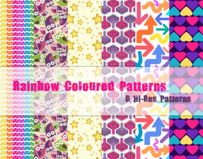 Rainbow Colored Patterns