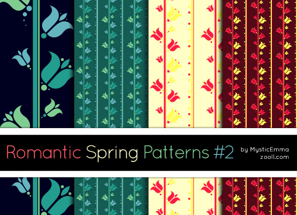 Romantic Spring Patterns #2
