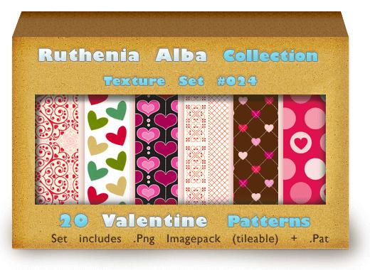 Txt Set 24: Valentine Patterns