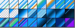 Adobe CC Photoshop Blue Gradation Free grd フォトショップ ブルー グラデーション 無料 素材 Ryuu Sandou cuprate