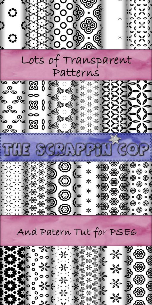 ScrappinCop Pattern set 3