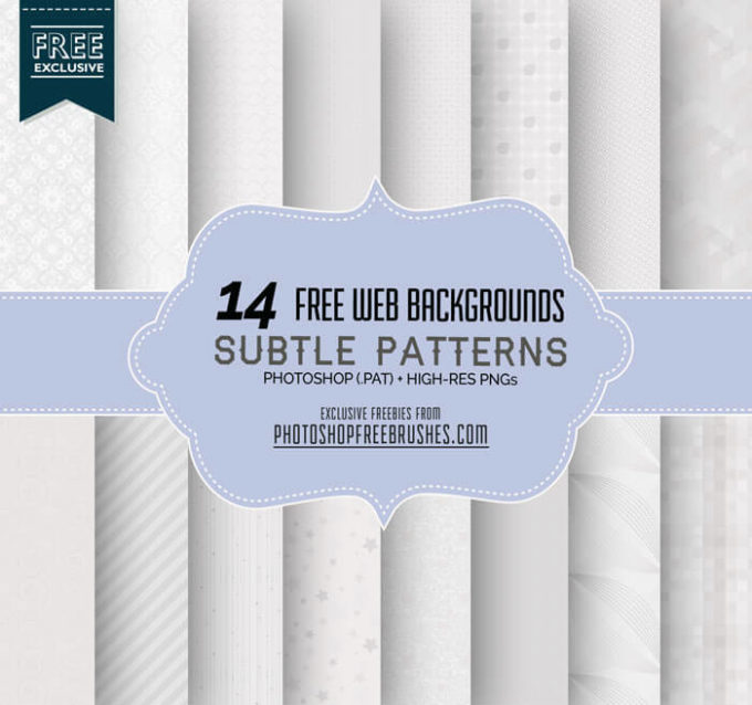 14 Elegant Subtle Patterns for Web Designs