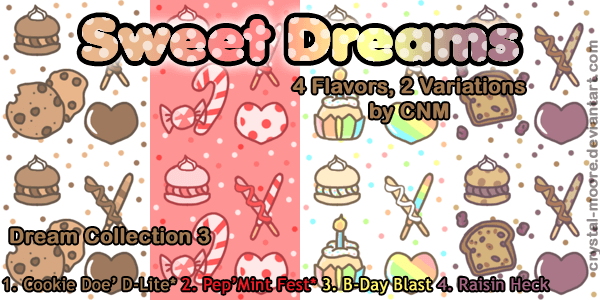 Sweet Dreams Pattern Collection 3