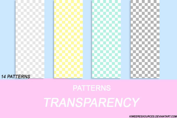 + TRANSPARENCY PATTERNS +