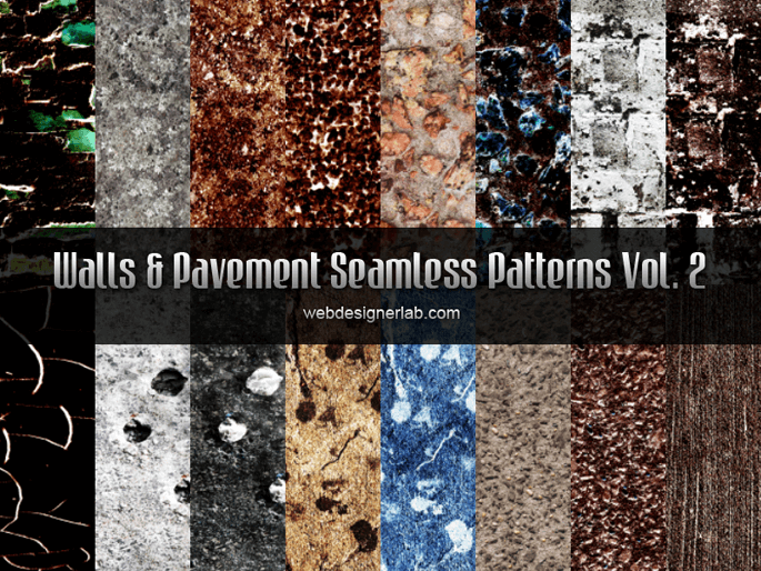 Walls and Pavement Patterns Vol.2