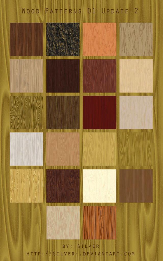 Wood Texture Patterns