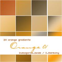 Photoshop Yellow Orange Gradation Free grd フォトショップ イエロー オレンジ グラデーション 無料 素材 20 soft orange gradients