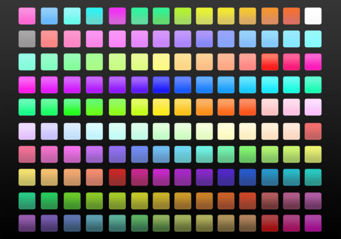 Photoshop Gradation Free grd フォトショップ グラデーション まとめ 無料 素材 1210 Gradients - Modern And Simple