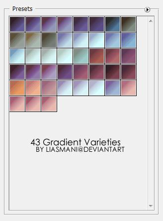 AdobeCC Photoshop Vintage Gradation Free grd フォトショップ ビンテージ グラデーション 無料 素材 43 Gradient Varieties
