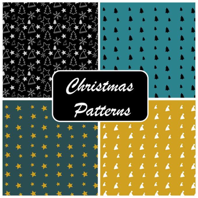フォトショップ クリスマス パターン テクスチャー Photoshop Christmas Pattern Free Christmas Photoshop Patterns