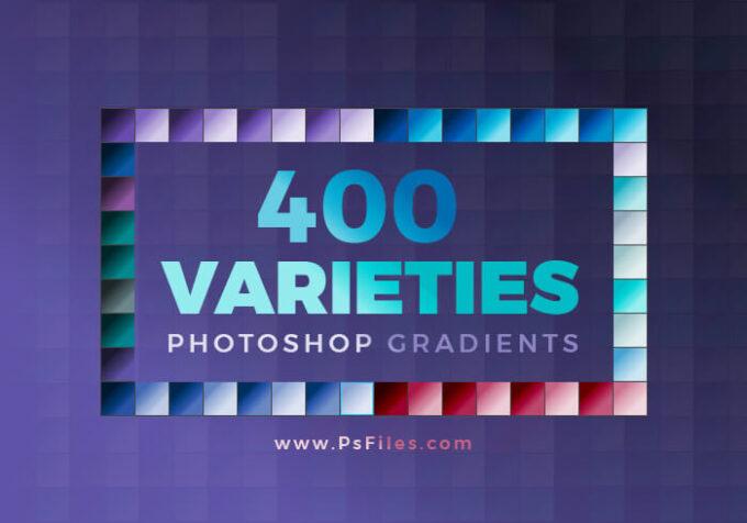 Adobe CC Photoshop Gradation Free grd フォトショップ グラデーション 無料 素材 400 VARIETIES