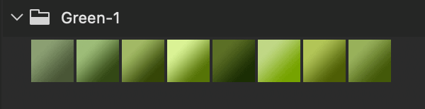 Adobe CC Photoshop Green Gradation Free grd フォトショップ グリーン グラデーション 無料 素材 Green Gradients .1