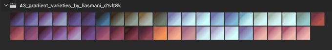Adobe CC Photoshop Gradation Preset フォトショップ グラデーション プリセット 無料 素材 セット .grd セピア ブラウン ヴィンテージ