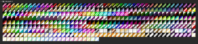 Adobe CC Photoshop Gradation Preset フォトショップ グラデーション プリセット 無料 素材 セット .grd big pack 3