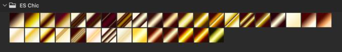 Adobe CC Photoshop Gradation Preset フォトショップ グラデーション プリセット 無料 素材 セット .grd ゴールド gold