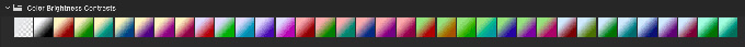 Adobe CC Photoshop Gradation Preset フォトショップ グラデーション プリセット 無料 素材 セット .grd Color Brightness Contrasts