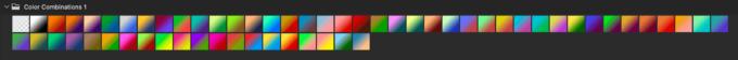 Adobe CC Photoshop Gradation Preset フォトショップ グラデーション プリセット 無料 素材 セット .grd Color Combinations 1