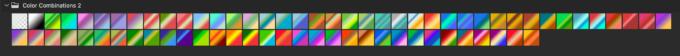 Adobe CC Photoshop Gradation Preset フォトショップ グラデーション プリセット 無料 素材 セット .grd Color Combinations 2