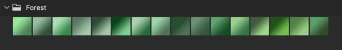 Adobe CC Photoshop Gradation Preset フォトショップ グラデーション プリセット 無料 素材 セット .grd 緑 グリーン
