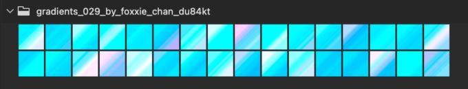 Adobe CC Photoshop Gradation Preset フォトショップ グラデーション プリセット 無料 素材 セット .grd ブルー 青 水色