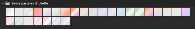 Adobe CC Photoshop Gradation Preset フォトショップ グラデーション プリセット 無料 素材 セット .grd パステル pastel colors