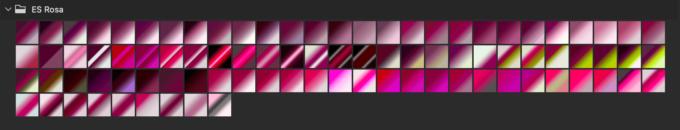 Adobe CC Photoshop Gradation Preset フォトショップ グラデーション プリセット 無料 素材 セット .grd ピンク