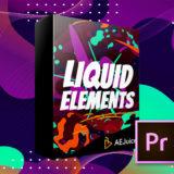 AE Juice Liquid Elements 素材 紹介